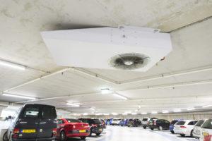 Ventilatiesystemen voor Parkeergarages van ExcelTech